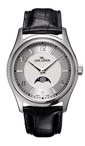 KARL-LEIMON Japanese Moonphase Watch Classic...