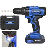 Cordless Drill with Battery and Charger Electric...