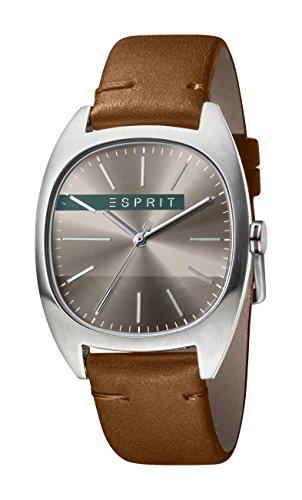 Esprit Reloj Analógico para Hombre de Cuarzo con Correa en Cuero ES1G038L0045
