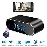 Spy Camera Clock HD 1080 WiFi Hidden Camera Alarm Clock with Super Night