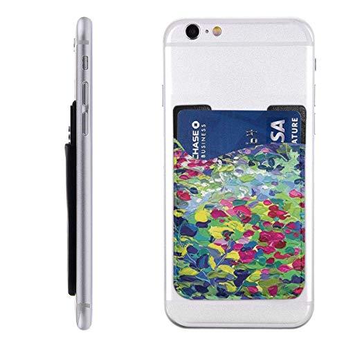 Mobiele kaart WalletPocket ID Credit Card MouwBloemen Schilderen Olie Schilderijen Natuur Landschap Impressionisme Artwork C