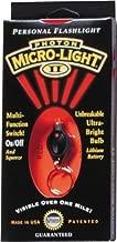 Photon Light Micro-Light II LED Keychain Flashlight Color: Red by Photon