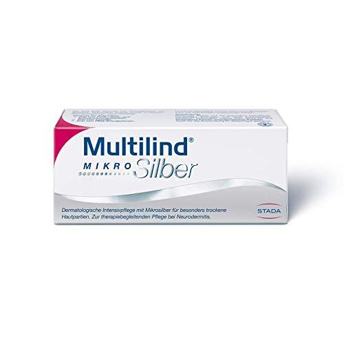 MULTILIND MikroSilber Creme - Intensivpflege mit Mikrosilber für trockene Hautpartien - zur therapiebegleitenden Pflege bei Neurodermitits - 1 x 75 ml Crème