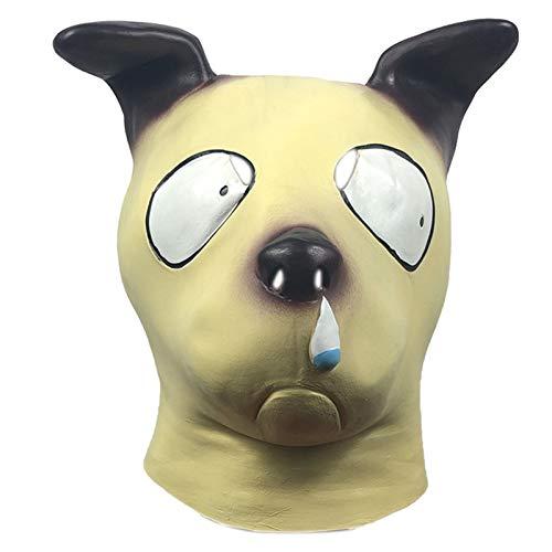 YTO Mscara Linda del Sombrero del Animal del Perro del moco, Sombrero Divertido para la Fiesta de la Mascarada, Accesorios del Funcionamiento del Partido del Bar