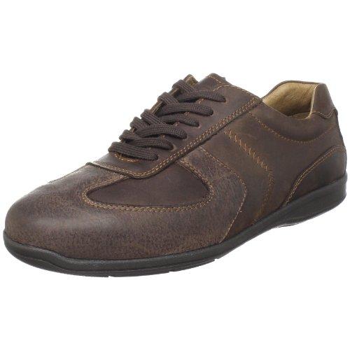Johnston & Murphy Men's Dunlap Sneaker,Chocolate and Dark Brown,10.5 M US