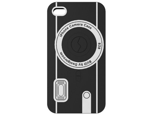 Bud Camera Case voor iPhone 4 Silicone