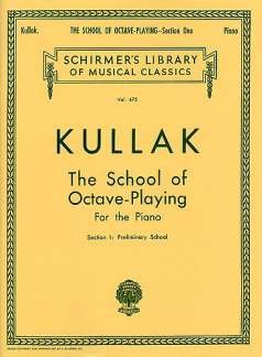 Theodor Kullak-School of Octave Playing, Op. 48 - Book 1-Klavier-BOOK