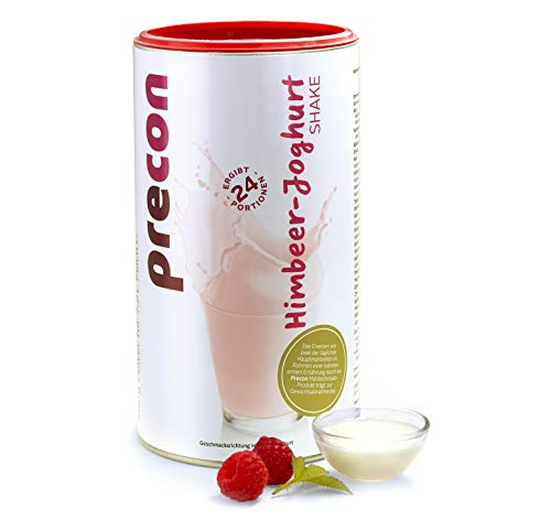 Precon BCM Diät Shake zum Abnehmen – Himbeer Joghurt – 24 Portionen (480 g) – Mahlzeitenersatz für eine gewichtskontrollierende Ernährung