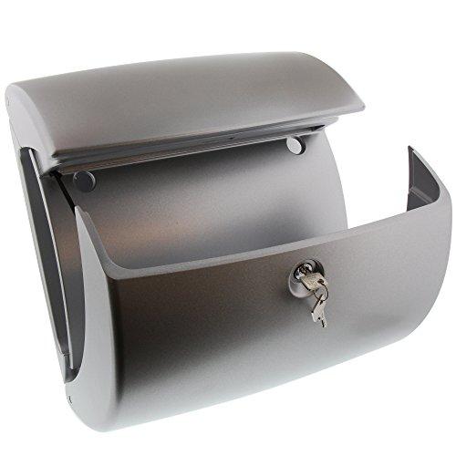 Burg Wächter Kunststoff Briefkasten KIEL 886 Silber - 3