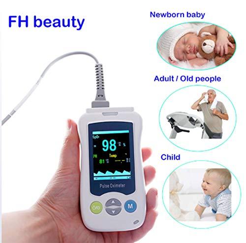 Medical Portable handpulsoximeter voor Volwassen Pasgeboren Zuigeling Neonatale Children's Mini Oximeter Hand Clamp Oximeter