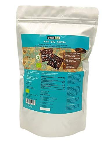 Dalia Bio Xilitolo Certificato Biologico 750G | Dolcificante Naturale | 40% In Meno Di Calorie Rispetto Allo Zucchero Convenzionale - 750 gr