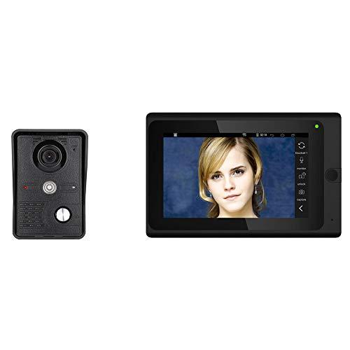 Pulgada inalámbrica/por Cable 1000tvl Cámara con Cable Visión Nocturna WiFi Video IP Video Intercomunicador