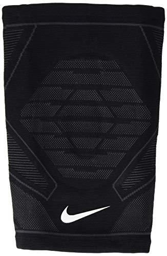Nike Unisex– Erwachsene Knitted Knee Sleeve Kniebandage, Schwarz/Weiß, S