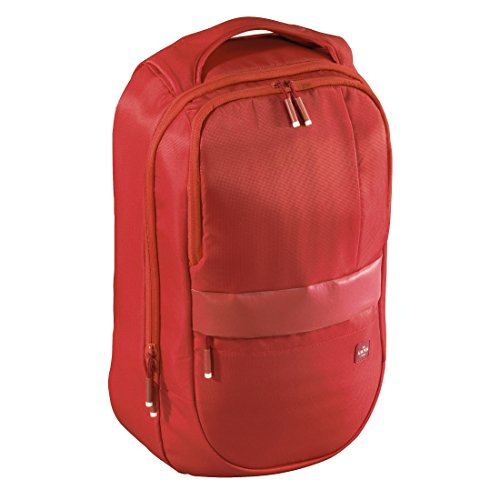 "Hama Munich mochila Nylon Rojo - Mochila (Nylon, Rojo, 39,6 cm (15.6""), Cremallera, 320 mm, 180 mm)"