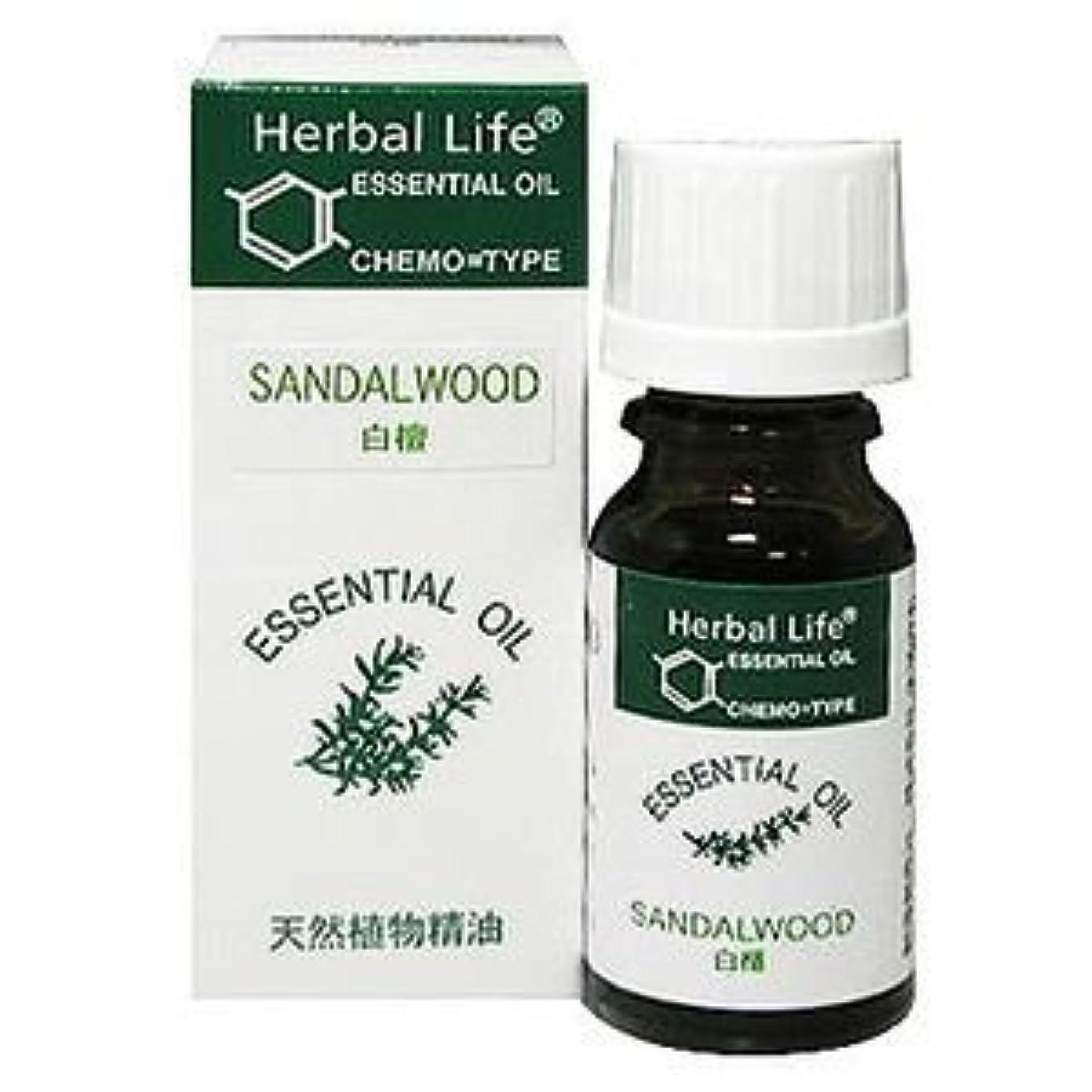 衝撃量教義Herbal Life サンダルウッド 10ml