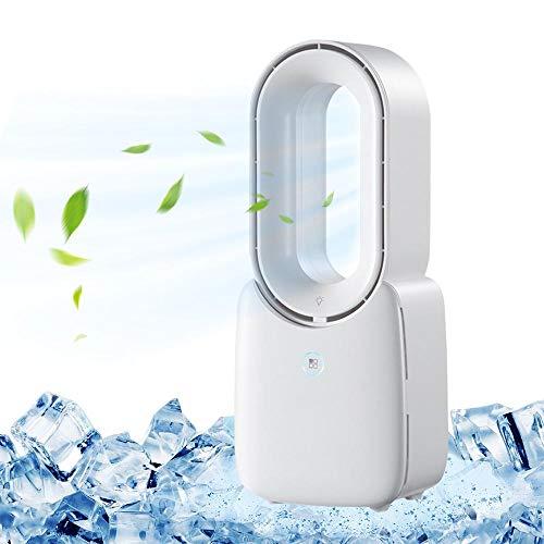 Volwco Ventilador de refrigeración sin aspas, portátil silencioso ventilador de torre | Multiplicador de aire USB de alta calidad para el suelo de esc...