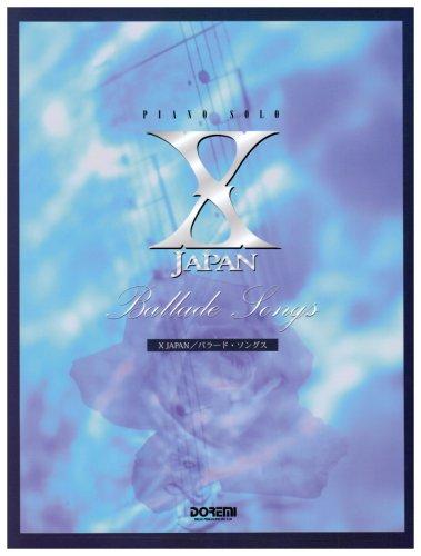 X JAPAN/バラード・ソングス (ピアノ・ソロ)の詳細を見る