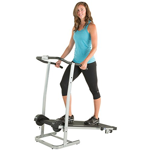 ProGear 190 Manual Treadmill with 2 Level Incline and Twin Flywheels by Paradigm Health & Wellness Inc. -- DROPSHIP