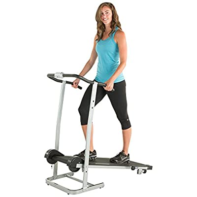 ProGear 190 Manual Treadmill with 2 Level Incline and Twin Flywheels 3001 by Paradigm Health & Wellness Inc.  -- DROPSHIP