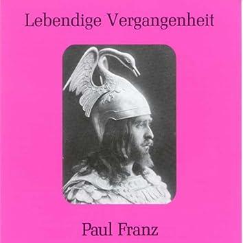 Lebendige Vergangenheit - Paul Franz
