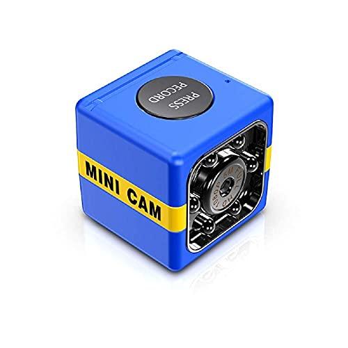 XIKUO 1080P Mini cámara HD Videocámara Cámara espía, Videocámara inalámbrica portátil Grabadora de video con visión nocturna por infrarrojos y detección de movimiento Nanny Cam Cámara de vigilancia