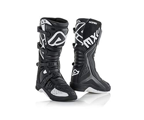 Acerbis Stiefel X-Team Schwarz-Weiß Größe 43