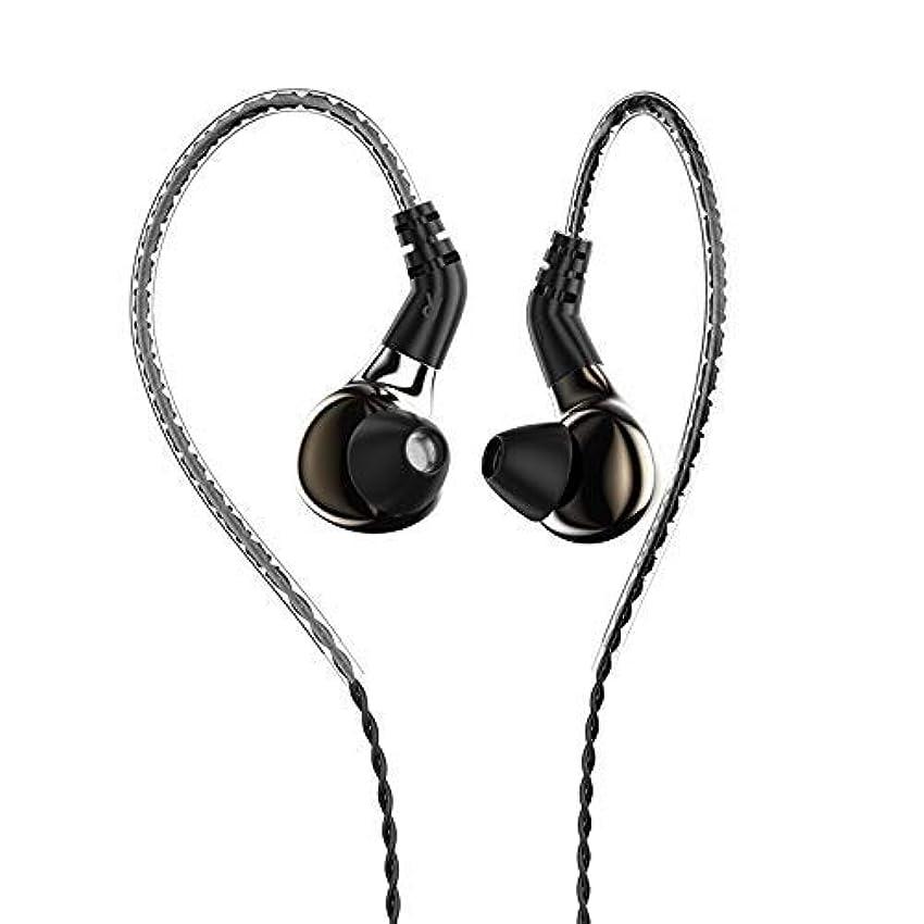 ダイアクリティカル資本主義秘密のHiFiHear BLON 03 10mm カーボンダイヤフラム ダイナミック ドライブ HiFi DJ インイヤーモニター イヤホン 2ピン取り外し可能なケーブル付き Without mic HiFiHear BLON 03