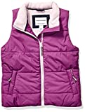 Amazon Essentials Girls' Big Heavy-Weight Puffer Vest, Bright Purple, Medium