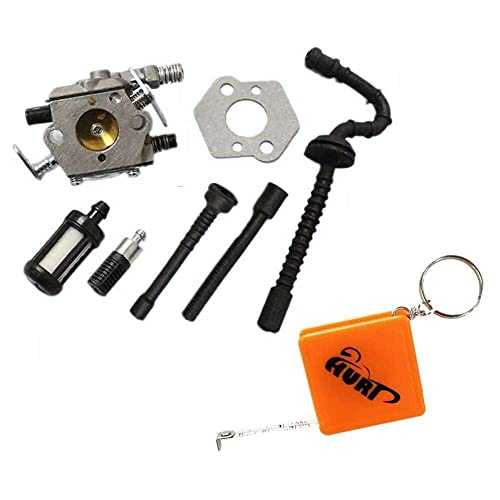 Gmasuber Carburador para motosierra Stihl MS250 MS230 MS210 025 023 023 021 WT-286 1123-120-0603 Stihl MS250 MS230 MS210