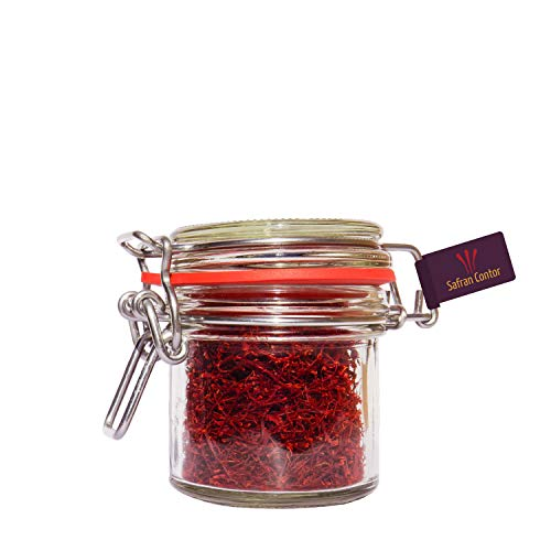 SafranContor Safran in Fäden, Negin-Qualität, 10 g im Glas