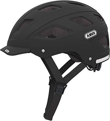 ABUS Unisex-Erwachsene HYBAN Fahrradhelm, velvet black, M