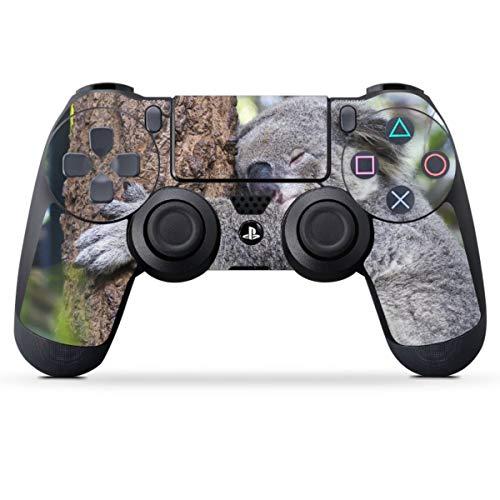 DeinDesign Skin kompatibel mit Sony Playstation 4 PS4 Controller Folie Sticker Koala Baum Australien