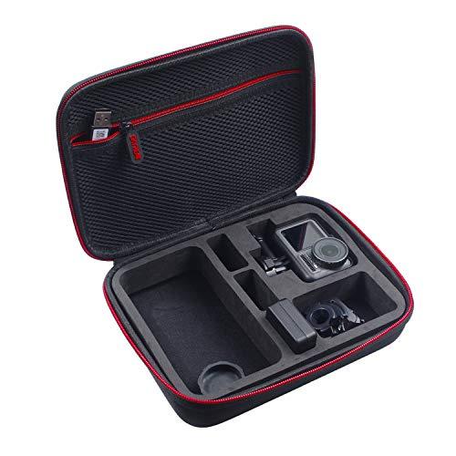 Skyreat Tragetasche Hard Carry Case Kompatibel mit DJI Osmo Action Aufbewahrungs Tasche für Osmo Action Expansion Kit Zubehör