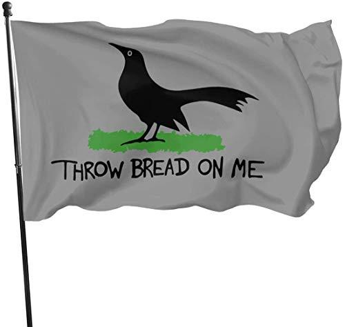'N/A' Throw Bread On Me Outdoor Flag Home Garden Flag Banner Flag USA Flag Decorative Flag 3x5 Ft Flag