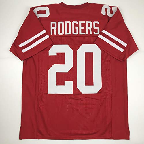 Unsigned Johnny Rodgers Nebraska Red Custom Stitched College Football Jersey Size Men's XL New No Brands/Logos
