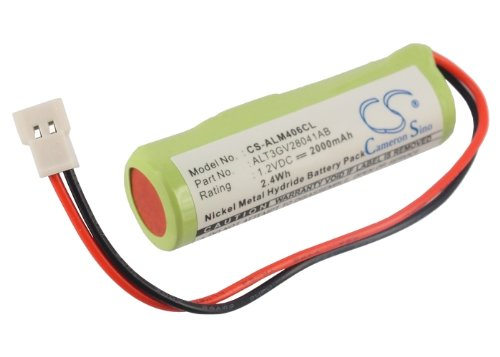 CS-ALM406CL Batería 2000mAh Compatible con [ALCATEL] 4068 IP, 4068IP Touch, Bluetooth 4068 sustituye 3GV28041AB, ALT3GV28041AB