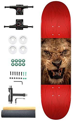 Mini Logo Leeuw Ogen Aangepaste Complete Pro Skateboard Kit - 8.0