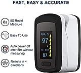 Zoom IMG-2 pulsiossimetro da dito sensore digitale