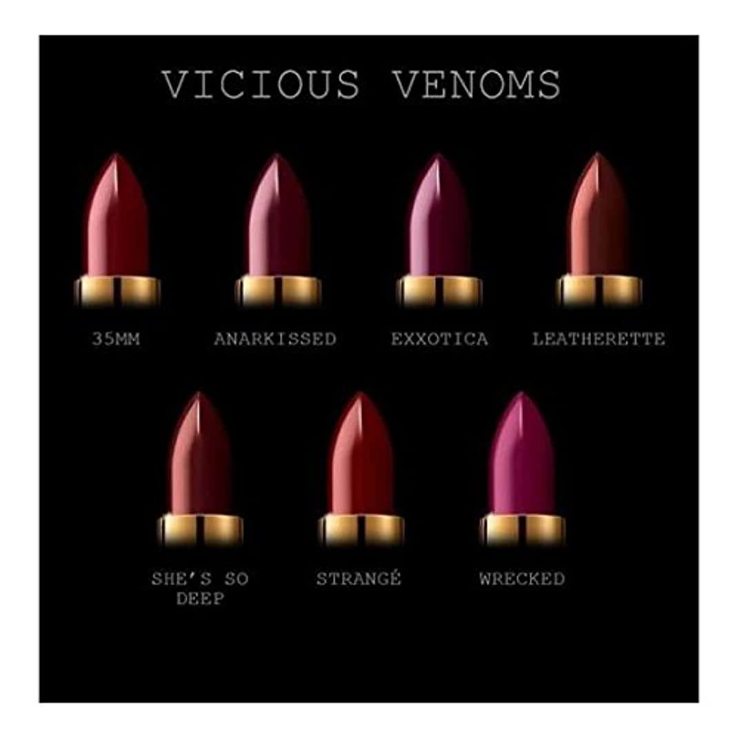PAT McGRATH COLOURVICIOUS VENOMS (DARKS) LUXETRANCE LIPSTICK パットマグラス 全7カラーの中からお選びください 35mm (Burgundy Pink)