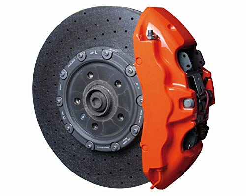 Foliatec 2167 Bremssattel Lack Set, flame orange