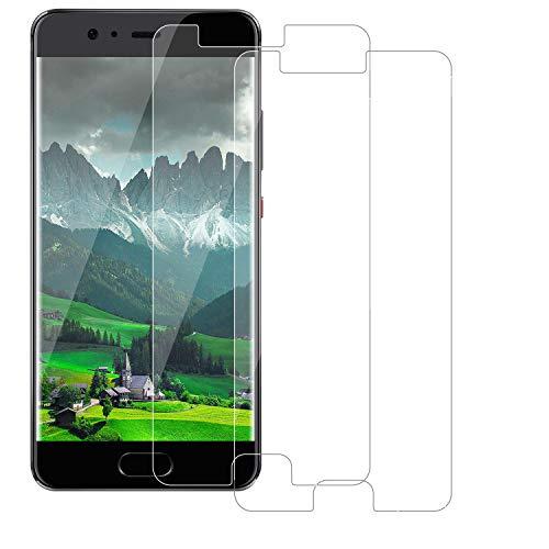 BOBI Pellicola Vetro Temperato per Huawei P10 Pellicola Protettiva, [3 Pezzi] Protezione per Schermo Pellicola Vetro Anti-Impronte, Ultra-Clear, Anti-Olio