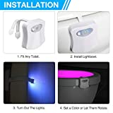 Zoom IMG-2 websun luce notturna per wc