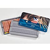 Derwent Lightfast Coloured Pencil set of 36 additional colours, supplied in a 72 tin