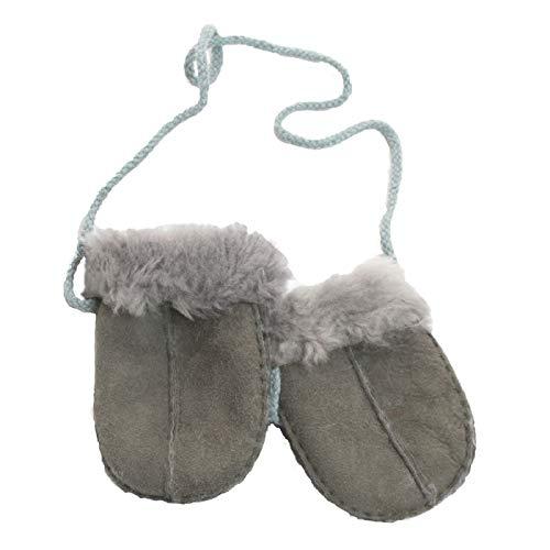 Eastern Counties Leather - Moufles en peau de mouton - Bébé (Taille unique) (Gris)