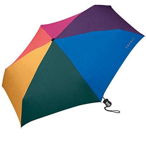 Esprit Easymatic Parapluie pliant 4-Section 20 cm multicolor