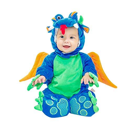 wetry - 3PC Baby Kleinkind Halloween Karneval Cosplay Fotografie Kostüm Sets für Jungen und Mädchen