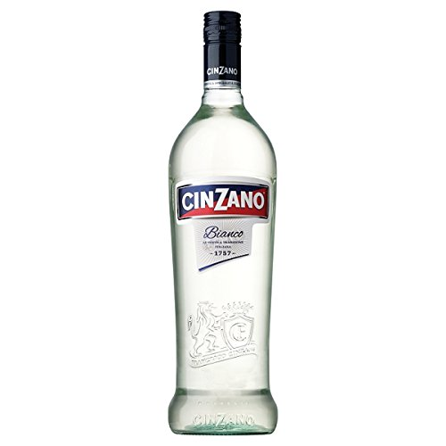 Cinzano Bianco Vermouth 75cl (Packung mit 6 x 75cl) 15 %