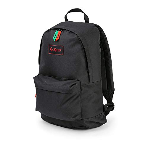 Kickers Canvas Backpack, Black, One Size 20 litres, Sac...