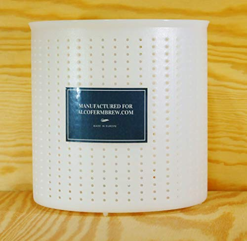 Moule à fromage 15.2x15cm - 1kg - Caciotta | Forme à fromage | Moule à faisselle | Fromage maison