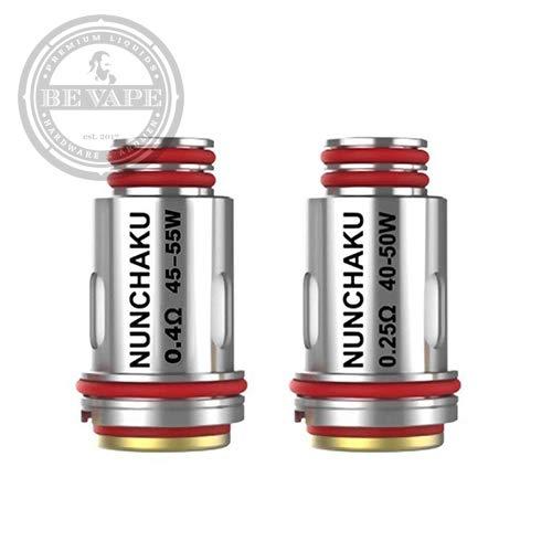 Uwell Nunchaku Spulen 0,4 Ohm (Packung von 4) Clapionized A1 - Enthält...